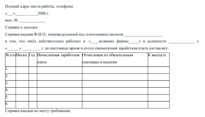 Как оформить справку 2 НДФЛ в Москве и России